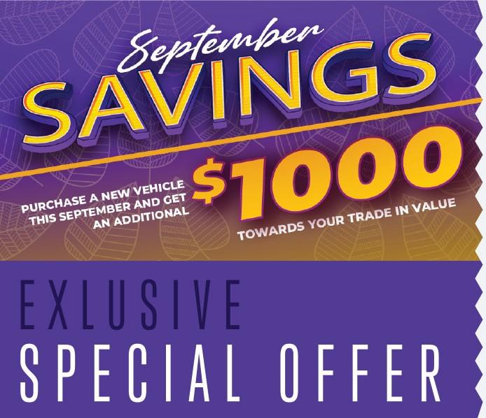 September Savings at Courtesy Chrysler Dodge Jeep Ram in 125 Glendeer Circle S.E.